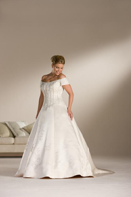 027954e52c25 svatební šaty » svatební šaty XXL - pro baculky i plesové